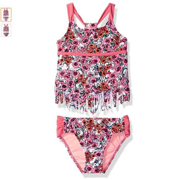 0fd9dfe366 Jessica Simpson Swim | Jessica Simspon Little Girls 2 Piece Suit ...